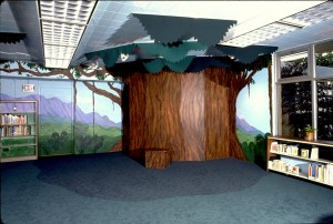 KAILUA LIBRARY-childrens tree-detailweb