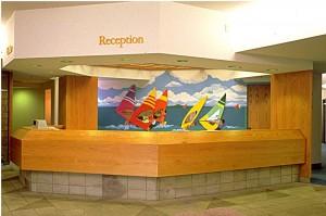"""Kaiser Permanente Clinic, Kailua, O'ahu, Hawaii, Bas-relief 22' x 8.5' x 3.5"""""""